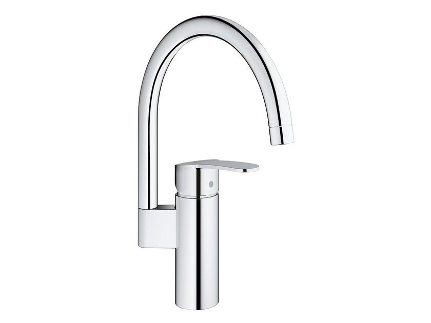 1 hole kitchen mixer tap with swivel spout EUROSTYLE COSMOPOLITAN | Countertop kitchen mixer tap by Grohe