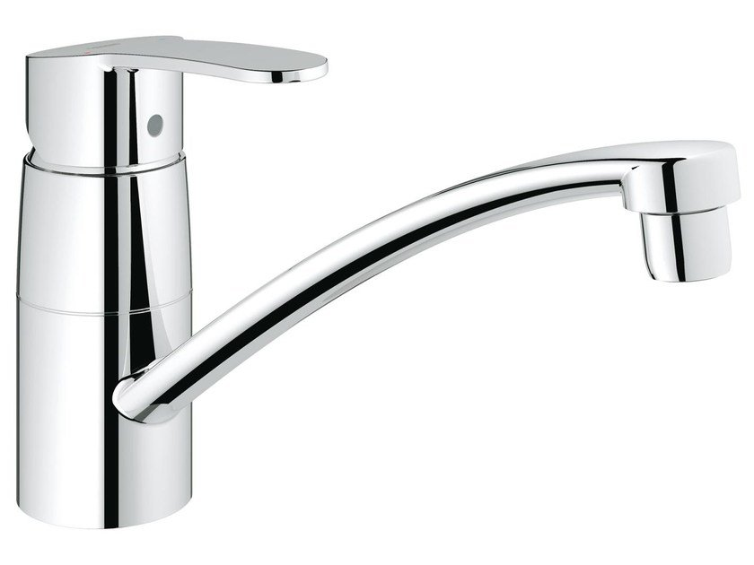 Countertop 1 hole kitchen mixer tap EUROSTYLE COSMOPOLITAN | Kitchen mixer tap with swivel spout by Grohe