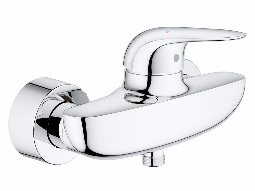 Single handle shower mixer EUROSTYLE NEW | 2 hole shower mixer by Grohe