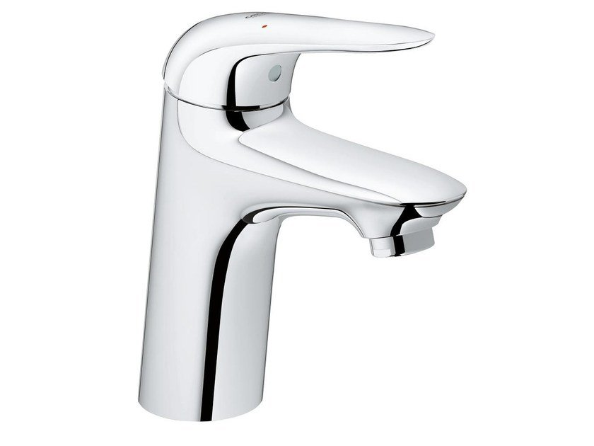 Countertop single handle washbasin mixer EUROSTYLE NEW SIZE S | Washbasin mixer without waste by Grohe