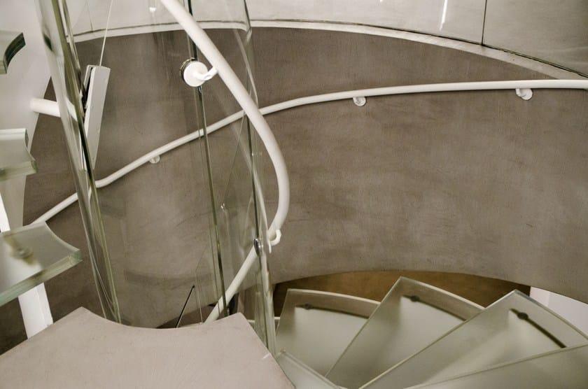 EUWORK LIVING Spiral staircase, Showroom Via Durini 17, Milano