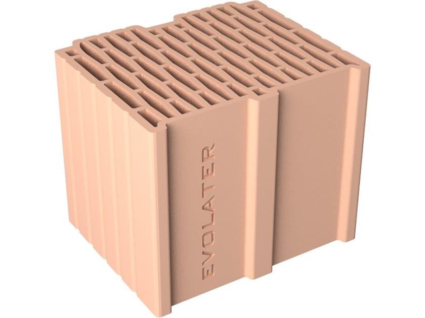External masonry clay block EV 30x25x25 by Fornaci DCB