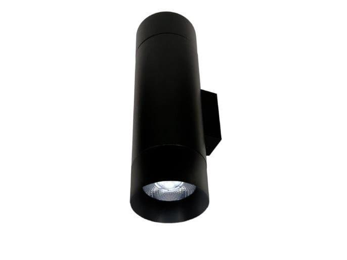 LED wall-mounted round aluminium spotlight EVA 2A EK / SR by LED BCN