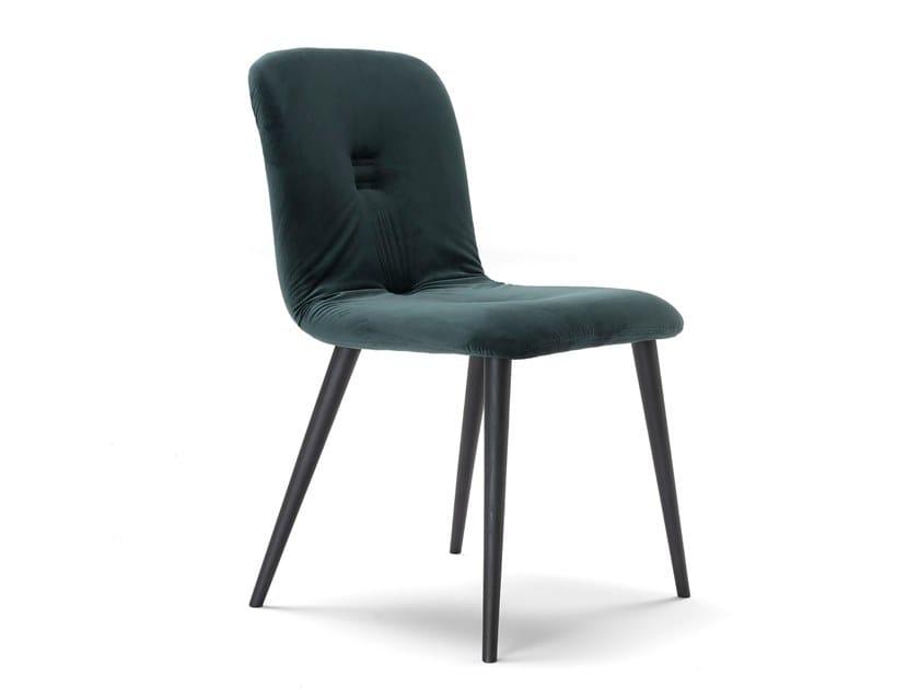 Sedia in velluto EVA by AltaCorte