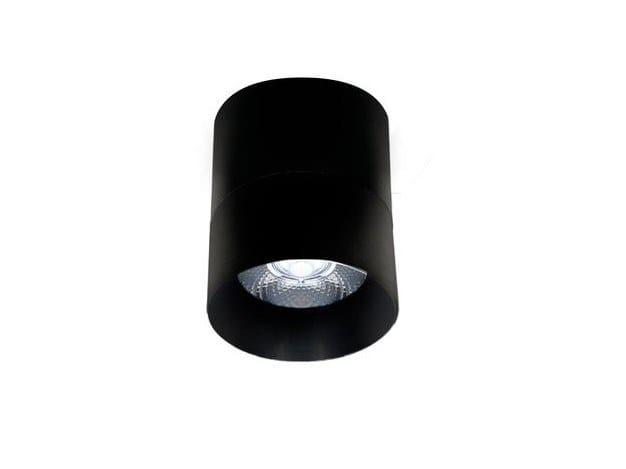 LED round ceiling aluminium spotlight EVA S EK / SR by LED BCN
