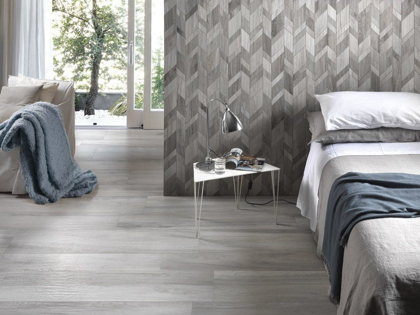 Porcelain stoneware wall/floor tiles with wood effect EVER by Ceramica Rondine