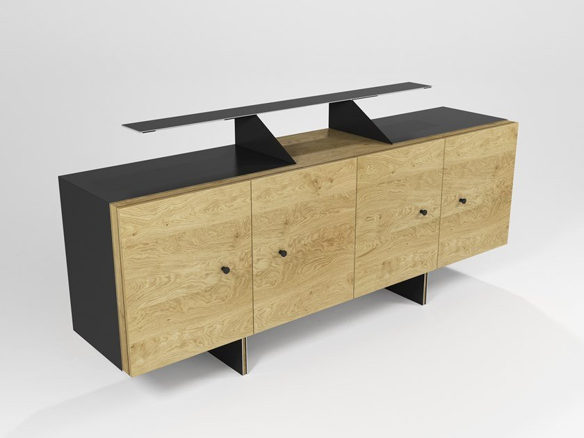 Sideboard with doors EVEREST | Sideboard by Barel