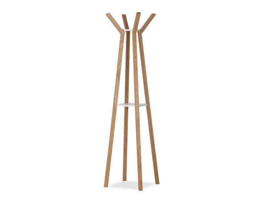 Oak coat rack EVEREST by Woodman