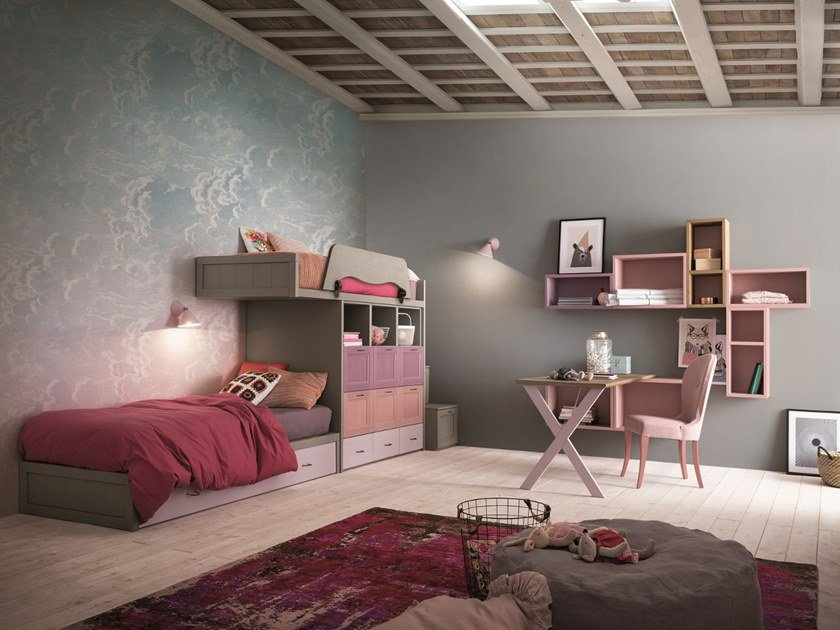 Bedroom set with bunk beds EVERY DAY ROOM 6 | Bedroom set by Callesella Arredamenti