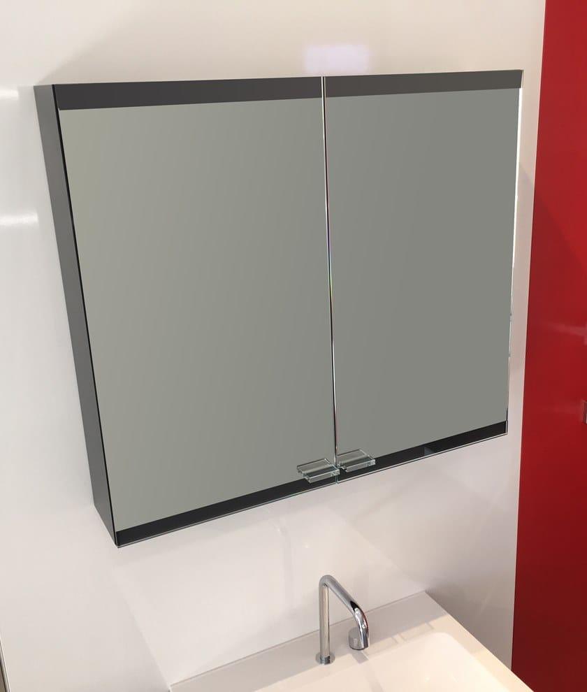 EVO | Specchio con contenitore