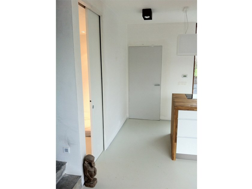Wooden pocket sliding door EVOBOX by A2B Doors