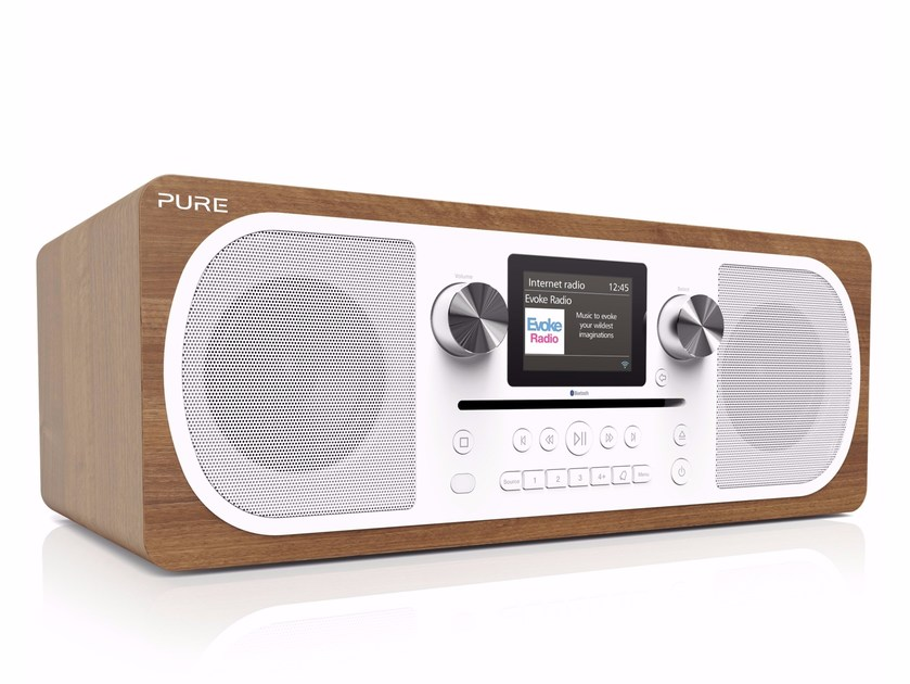 Radio with alarm clock with remote control EVOKE C-F6 by PURE