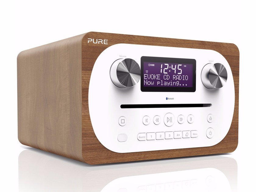 Radio with CD player with alarm clock EVOKE C-D4 by PURE