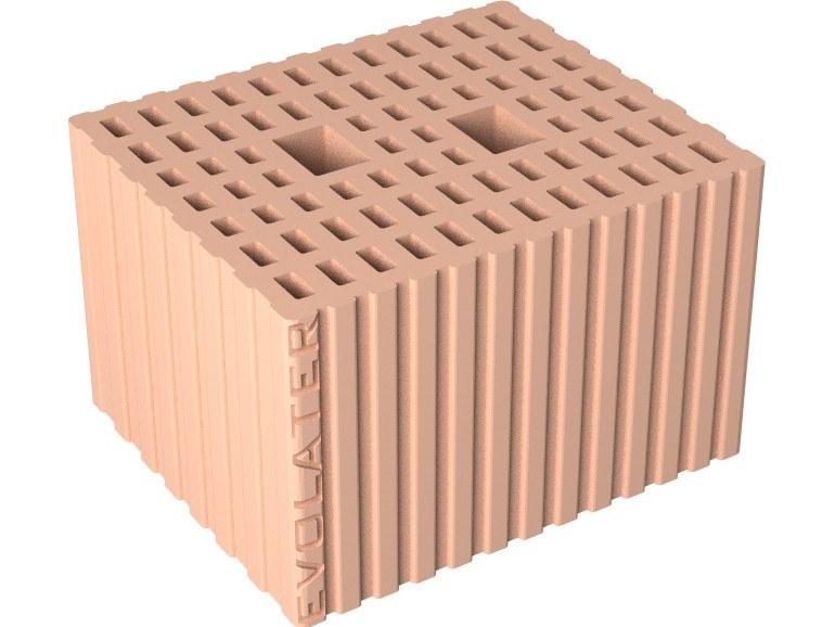 Loadbearing clay block EVOLATER ACUSTICO 25X30X19 ZS by Fornaci DCB