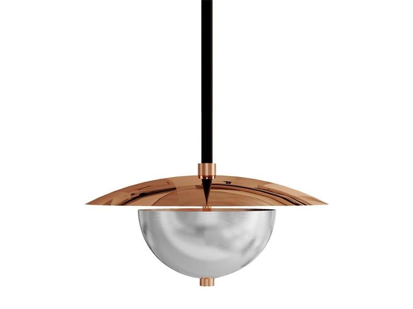 Copper pendant lamp EVOLUON by Creativemary