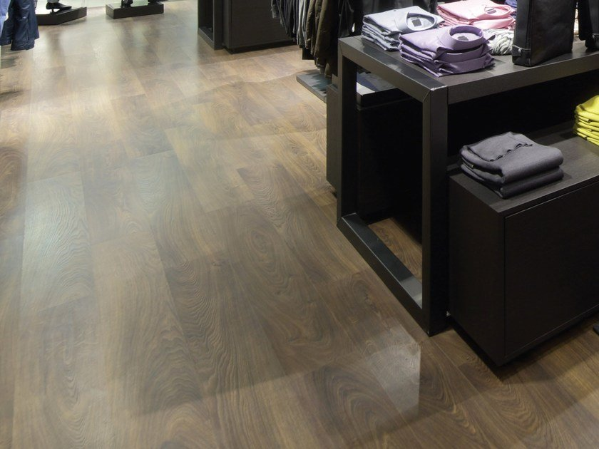 Resilient Lvt Flooring With Wood Effect Evolution Zero By Virag