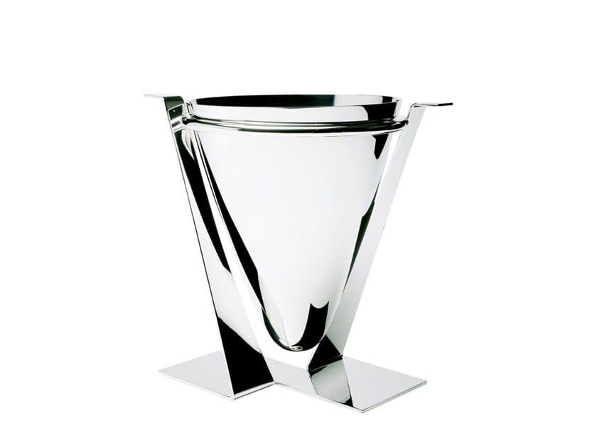 Silver ice bucket EVOLUZIONE by ZANETTO