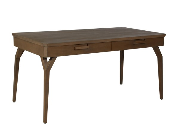 Rectangular writing desk with drawers EVY | Writing desk by WARISAN