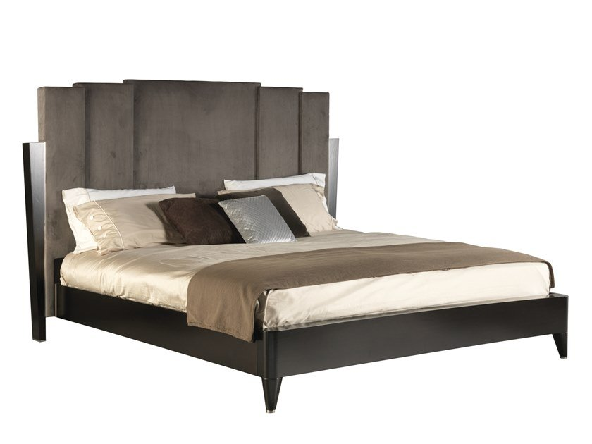 King size bed with high headboard GATSBY | King size bed by SELVA