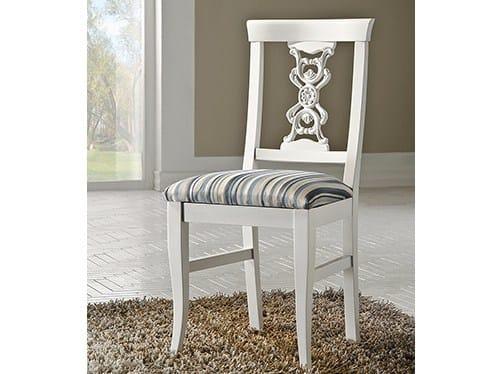 Sedia in legno massello con schienale aperto EXCLUSIVE | Sedia laccata by Arvestyle