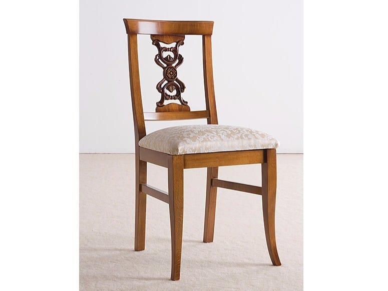 Sedia in legno massello con schienale aperto EXCLUSIVE | Sedia in legno massello by Arvestyle