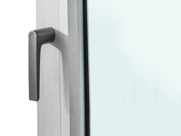 Metal window handle EXENS by ALsistem