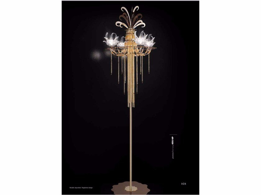 Floor lamp with Swarovski® crystals EXOTIC | Floor lamp by IDL EXPORT