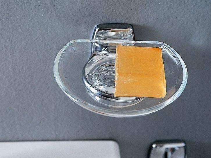 Portasapone a muro in vetro EXPORT | Portasapone in vetro by INDA®