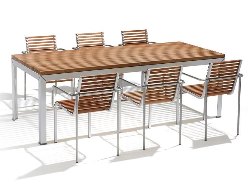 EXTEMPORE | Table de jardin By Extremis design Arnold Merckx
