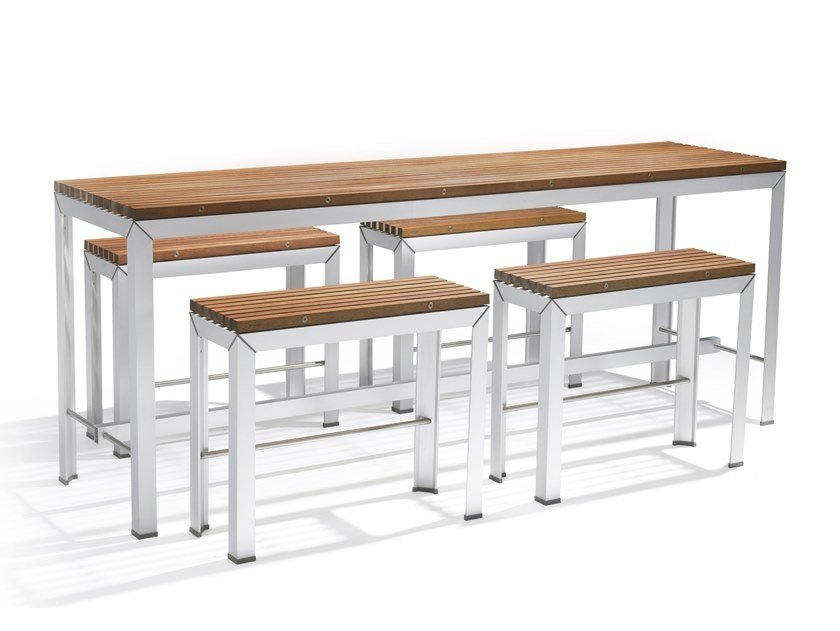 Wooden high table EXTEMPORE | High table by Extremis