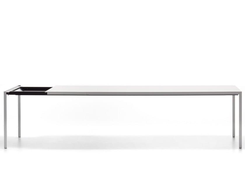 Tavolo Alluminio Mdf Extension In Italia Rettangolare Allungabile IDH2eWE9Y