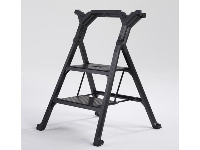 Folding aluminium step stools EXTRA by SVELT