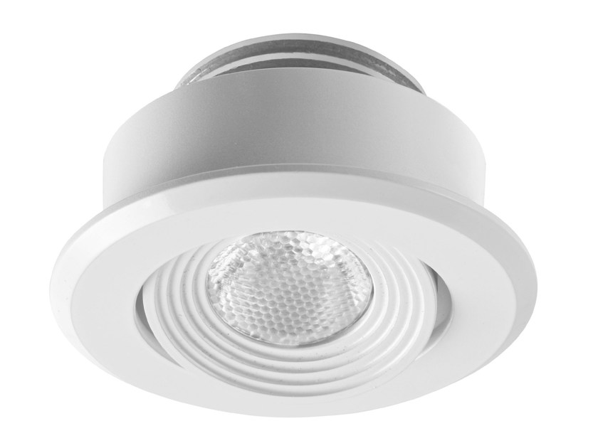 Faretto a LED orientabile in alluminio da incasso EYE 1 by LED BCN