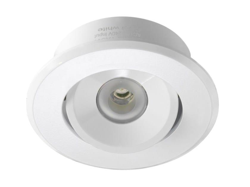 Faretto a LED orientabile in alluminio da incasso EYE 3 by LED BCN