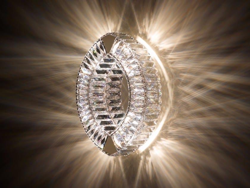 Halogen wall light with Swarovski® crystals EYRIS | Wall light by Swarovski