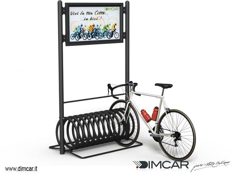Metal Bicycle rack ELIX DISPLAY by DIMCAR