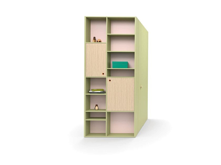 Sectional wardrobe End unit by Nidi