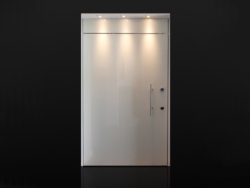 Safety door with access control Entry door with access control by Ercole