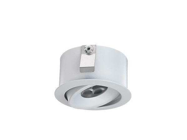 LED adjustable recessed spotlight Esem Mid 1.7 by L&L Luce&Light