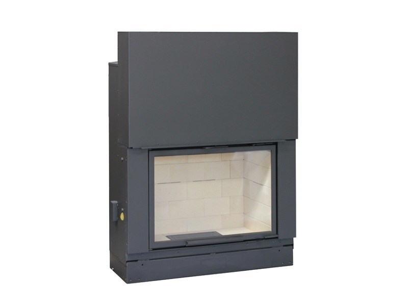 Wood-burning Fireplace insert F1000 by Axis