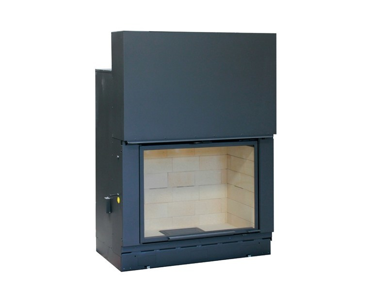 Wood-burning Fireplace insert F1200 by Axis
