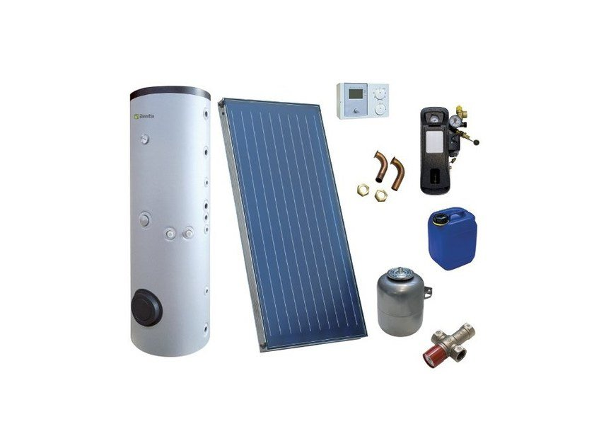 Forced circulation Solar heating system F2B-SOL by BERETTA