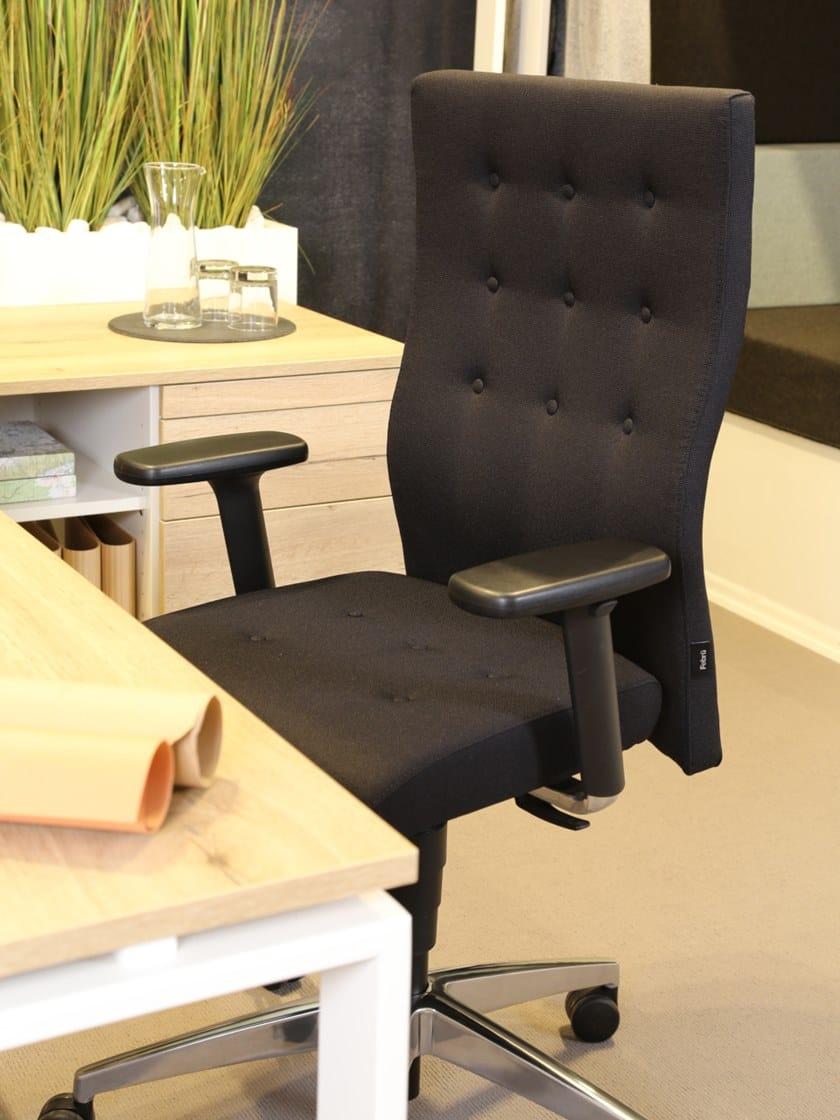 Sedia ufficio ergonomica a 5 razze F3 | Sedia ufficio - Febrü