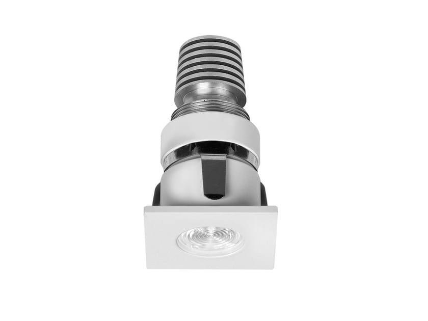 Faretto per esterno a LED in alluminio da incasso F40 by Buzzi & Buzzi