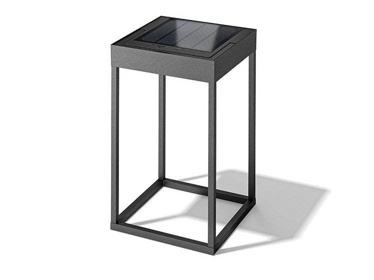 Solar powered die cast aluminium lantern F9000-300B by Ucome