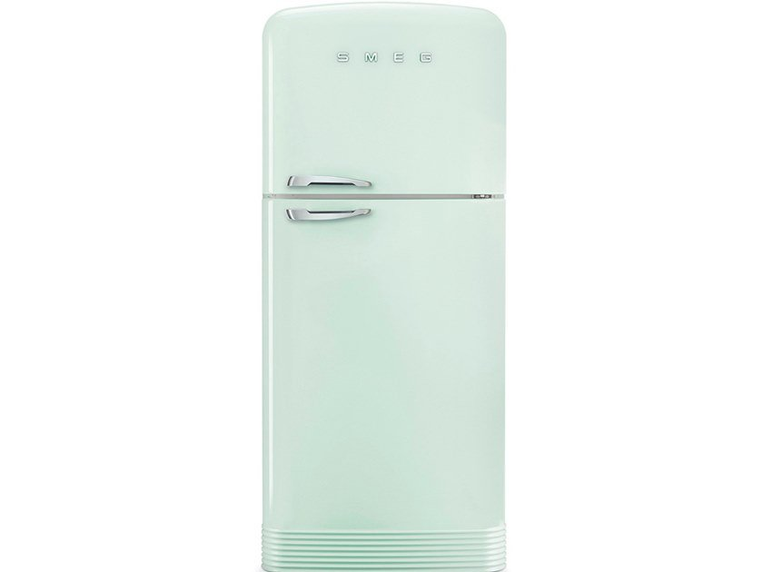 Double door freestanding refrigerator Class A++ FAB50 by Smeg