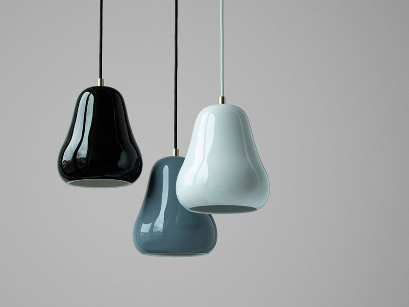 Porcelain pendant lamp FABELLA | Pendant lamp by Caussa