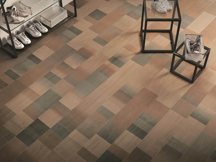 Porcelain stoneware wall/floor tiles with wood effect FABULA JUNGLE by Ceramiche Caesar