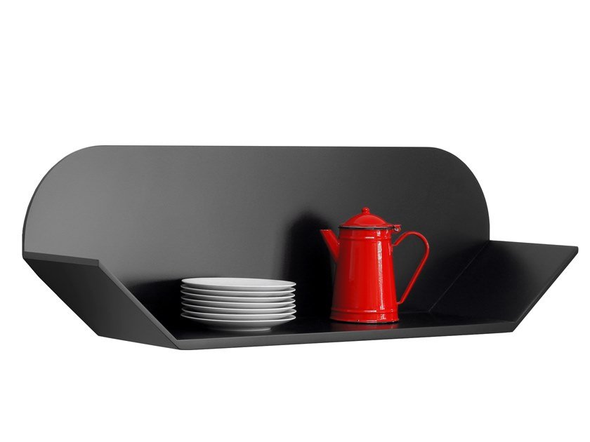 MDF wall shelf FACE 12 by Compagnie