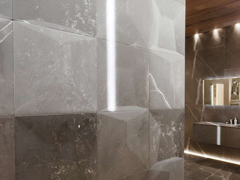 Natural stone wall tiles for cleanrooms FACES | Wall tiles by L'antic Colonial